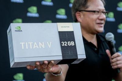 黄仁勋发布新运算显卡 性能提升不止一个TITAN Xp