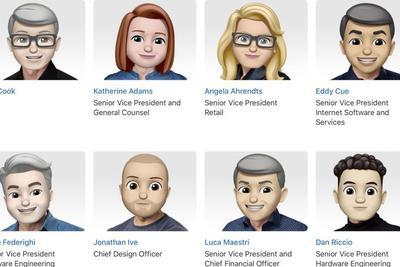 为庆祝世界表情符号日 苹果把管理层都做成了表情