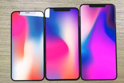 今年的3款新iPhone玻璃面板首次曝光 LCD版边框略宽
