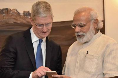 为挽救当地iPhone销量 库克推进苹果印度业务新战略