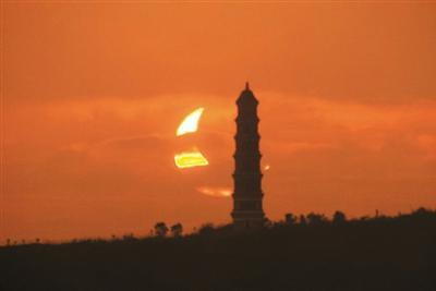 两天后太阳将上演一场光影魔术