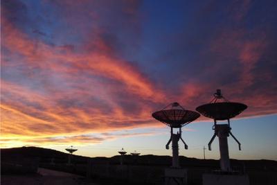 """中国科学家首次通过草原""""天眼""""观测日食过程"""