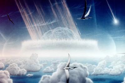 6500万年前小行星撞地球灭绝恐龙还使气候升温10万年