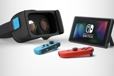 Switch竟暗藏VR模式? 不过别高兴太早