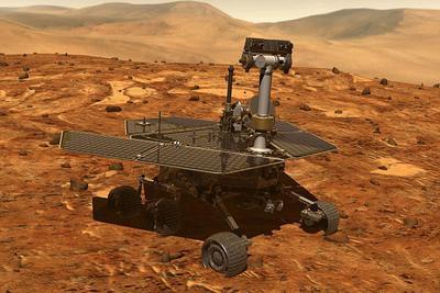 """火星沙尘暴开始消散  NASA只剩45天来联络""""机遇号"""""""