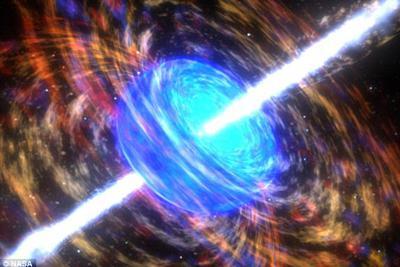 伽马射线暴电磁能爆发:时间在其中似乎会倒退重复