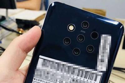 诺基亚9五摄手机已通过中国工信部、美国FCC认证
