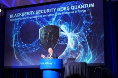 黑莓推出最强加密技术 量子计算机也没戏