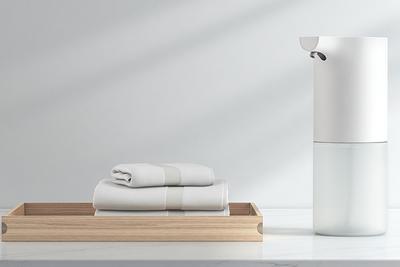 米家自动洗手机套装发布:伸手0.25秒出泡