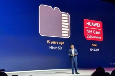 华为推Nano Memory微型存储卡:大小和Nano SIM卡一样