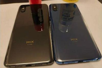 """网友分析林斌分享的""""MIX 3谍照""""或是升降摄像头"""
