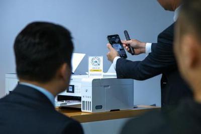 愛普生推出新款打印機:掃一下微信小程序就能打印