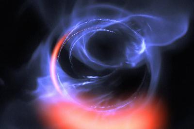 超大质量黑洞潜伏在银河系中心:周围引力牵引非常强