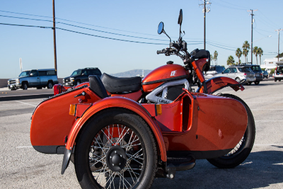 Ural公司推出一款新侧三轮电动摩托车