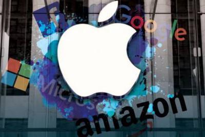 """苹果、微软和亚马逊上演""""三国杀"""" 谁将最终胜出?"""