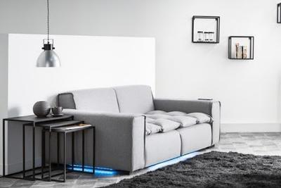 CES新品抢先曝:这个沙发自带音箱还能无线充