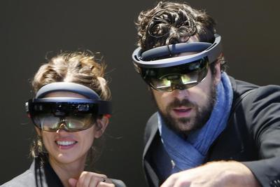 微软可能正在打造普通人能买到的HoloLens