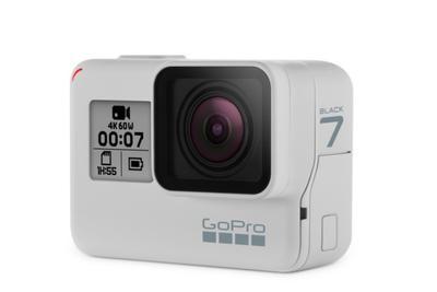 GoPro HERO7 Black迎来首款限量白色 旗舰终于不黑了