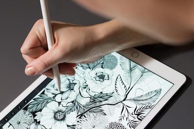 苹果新专利:Apple Pencil可换笔刷 触觉反馈以假乱真
