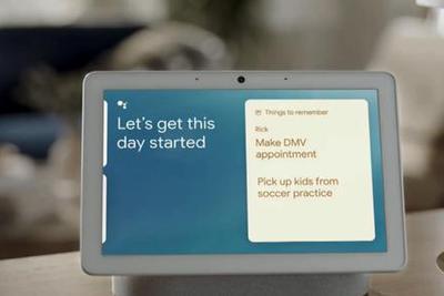 谷歌发Nest Hub Max智能设备:屏幕更大 更安全