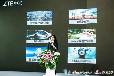 中兴通讯闫丽娟:理想的5G网络有智能大脑、极致身体