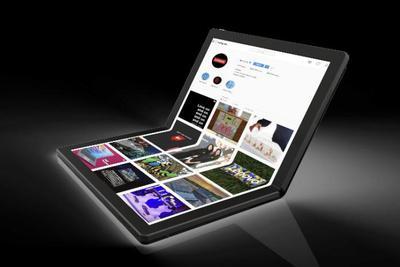 联想发布全球首款折叠电脑 预计2020年上市