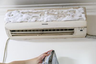 手把手教你空调清洗 10块钱搞定12年高龄空调