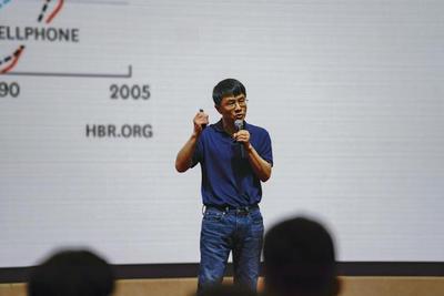 直击|陆奇:创业是历史趋势 中国创业者迎黄金时代