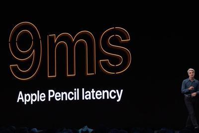 iPadOS针对Pencil优化:时延9毫秒