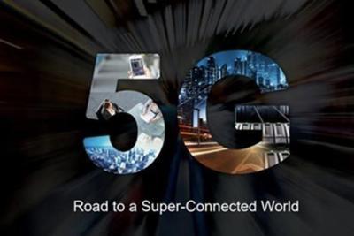 华为5G商用图标曝光 酷似莫比乌斯带