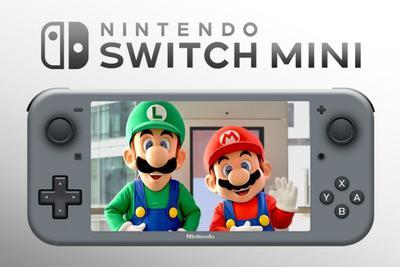 任天堂Switch Mini将不支持连接电视 手柄也不可拆卸