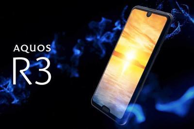 夏普AQUOS R3 5G版公布:刘海加门牙 月底日本预售
