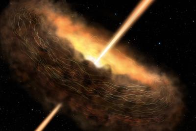 """黑洞是宇宙范围内的毁灭引擎,但也可以""""带来生命""""!"""