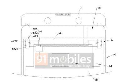 OPPO升降式镜头设计专利曝光 或将用于OPPO Find系列_网赚小游戏