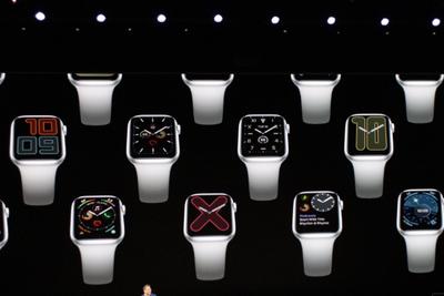 苹果发布新Apple Watch:可常亮显示 售价399美元起