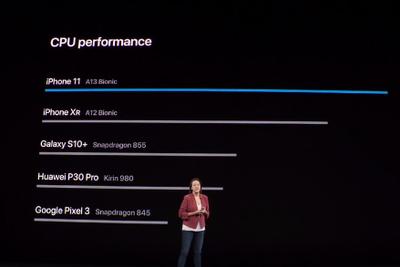 苹果A13芯片亮相:远超华为三星?