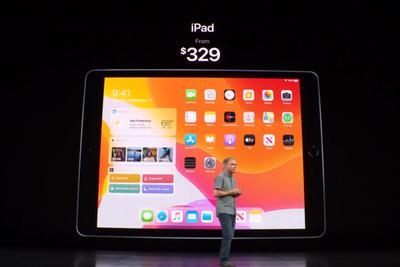 苹果发布新iPad:A10处理器 售329美元起