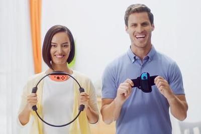 为了让你减肥,任天堂发了一个「圈」