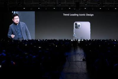 """上海怎么找兼职_华为吐槽iPhone 11系列设计:""""我们引领了设计"""""""
