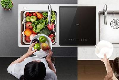 洗碗机按安装方式分为三类 哪种更适合家用?