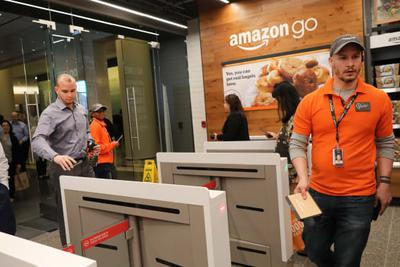传亚马逊计划将Go商店无现金结账引入机场和影院