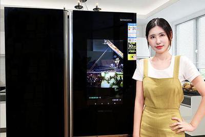 智能冰箱让厨房更多彩 创维冰箱BCD-536WGPi评测