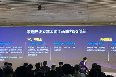 中国联通投资版图:百亿母基金之外 还有五支基金加持