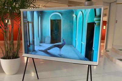 """三星The SERIF电视发布:内置""""环境屏""""模式 售11999元"""