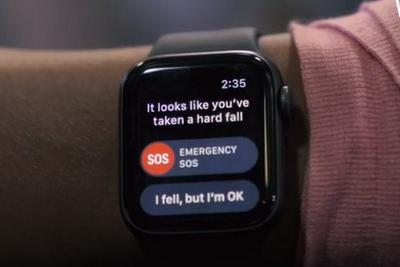 男子摔下悬崖 Apple Watch跌倒检测救了他一命
