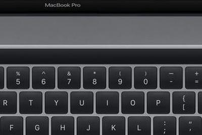16英寸MacBook Pro Touch Bar和Touch ID布局确认