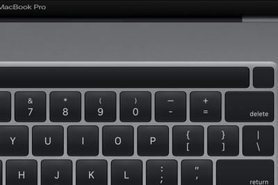 16寸MacBook Pro曝光:Touch ID与Touch Bar分开