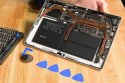iFixit拆解Surface Pro 7:得分仍是1 该换设计了