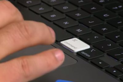 16英寸MBP键盘首拆:简直能和旧键盘互换键帽