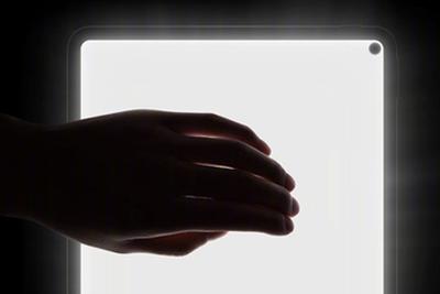 华为MatePad真机图曝光:挖孔屏加超窄边框设计